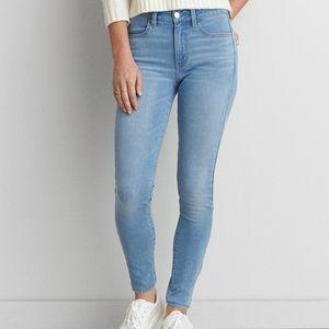 American Eagle Hi-Rise Jegging 8 skinny jeans